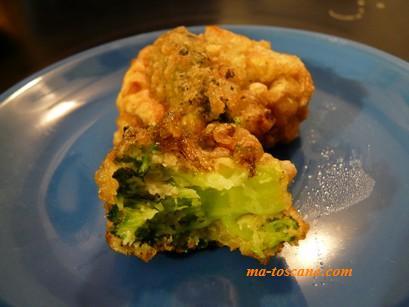 fritelle di broccoli brocoli en beignets ma toscane. Black Bedroom Furniture Sets. Home Design Ideas